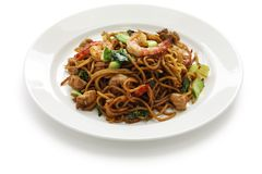 Mie goreng, mi goreng Stock Photos