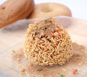 Mie noodles Stock Photo