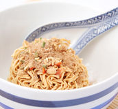 Mie noodles Royalty Free Stock Photo