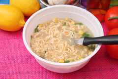 Mie noodles Stock Photography