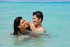 śmiech karaibów Fotografia Stock