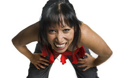 śmiech kobieta Zdjęcie Royalty Free