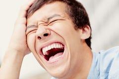 Śmiechu zbliżenie Obraz Stock