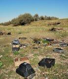 Śmieci w dzikim Zdjęcie Royalty Free