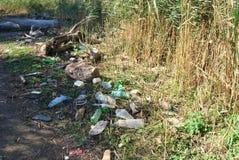 Śmieci w dzikim Obraz Stock