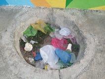 Śmieci w Filipiny obrazy royalty free
