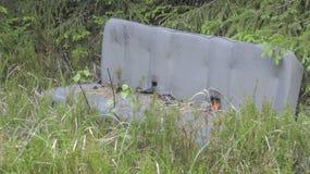 Śmieci w naturze Zdjęcia Royalty Free