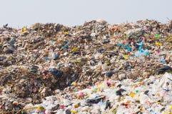 Śmieciarski rozsypisko Zdjęcie Stock