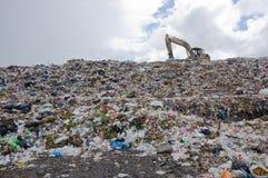 Śmieciarski rozsypisko Fotografia Stock
