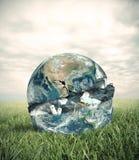 Śmieciarski świat Fotografia Stock