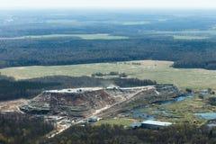 Śmieciarski wzgórze Zdjęcia Stock