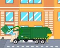Śmieciarskiego usuwania maszyna Fotografia Royalty Free