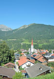 Mieders im Stubaital, Tirol, Oostenrijk Stock Foto's