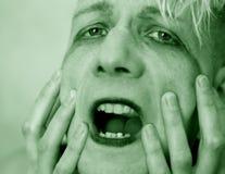 Miedo Fotografía de archivo libre de regalías