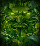 Miedo de la selva ilustración del vector