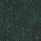 Miedziana bezszwowa tekstura z kwiatu wzorem na tlenkowym kruszcowym tle ilustracji