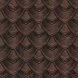 Miedziana bezszwowa tekstura z wzorem royalty ilustracja