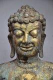 Miedziana Buddha statua fotografia royalty free