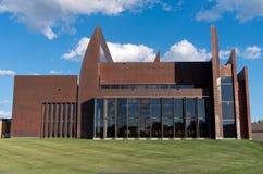 Miedziana kaplicy powierzchowność, Windows i Zdjęcia Royalty Free