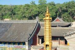 Miedziana pagoda Fotografia Royalty Free