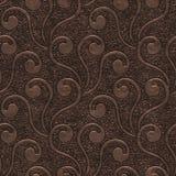 Miedzianego metalu bezszwowa tekstura z wzorem royalty ilustracja