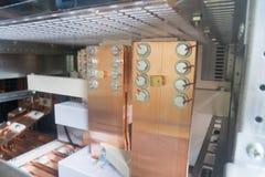 Miedziany busbar Obrazy Stock