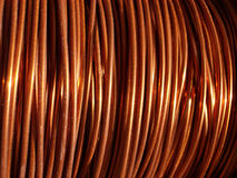 Miedziany drut 2 Obraz Stock