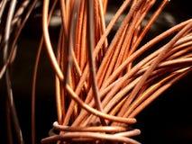 Miedziany drut 4 Zdjęcia Stock