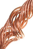 Miedziany drut pojęcie przemysł energetyczny Obrazy Stock