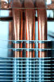 miedziany heatpipe Fotografia Stock