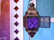 Miedziany lampion Fotografia Royalty Free
