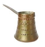 miedziany stary teapot Fotografia Stock