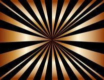 miedziany tła sunburst Obraz Royalty Free