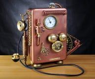 miedziany telefon zdjęcie stock
