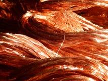 Miedzianych drutów szczegół Zdjęcie Royalty Free