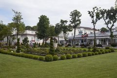 Miedzyzdroje in Poland Royalty Free Stock Photo