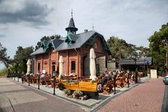 Miedzyzdroje in Poland Royalty Free Stock Photography
