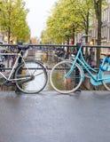 miłego na rowerze Obraz Royalty Free