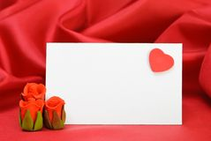 miejsc karciani valentines Obrazy Stock