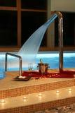 miejsca basenu romantyczny dopłynięcie Obraz Royalty Free