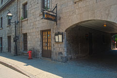 Miejsca d'Youville (Gibby restauracja) Zdjęcie Stock