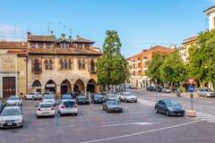Miejsca Duomo w Treviso Zdjęcia Stock
