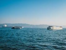 miejsca przeznaczenia egadi wysp marettimo statku Sicily podróż Fotografia Stock