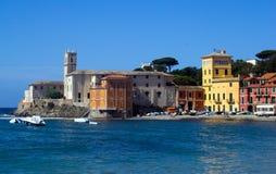 miejsca przeznaczenia Italy levante Liguria regionu sestri turysta Obraz Royalty Free