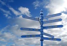 miejsca przeznaczenia podróżują na całym świecie Zdjęcie Stock