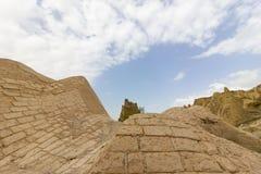 Miejsca publicznego Goreme na wolnym powietrzu Cappadocia muzealne Indycze rockowe formacje zdjęcia royalty free