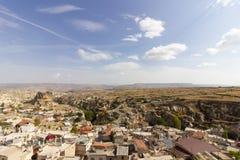 Miejsca publicznego Urgup Cappadocia Indycza jama fotografia stock