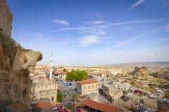Miejsca publicznego Urgup Cappadocia Indycza jama obraz stock