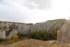 Miejsca publicznego Urgup Cappadocia Indycza jama obrazy royalty free