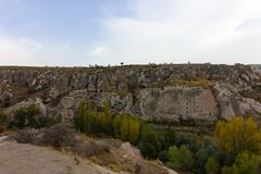 Miejsca publicznego Urgup Cappadocia Indycza jama zdjęcia stock